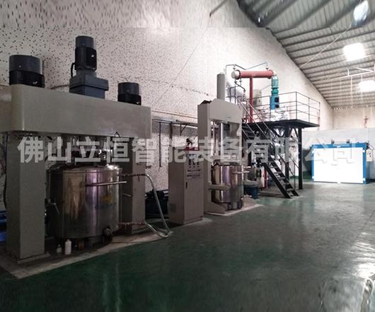 聚氨酯密封胶成套生产线案例