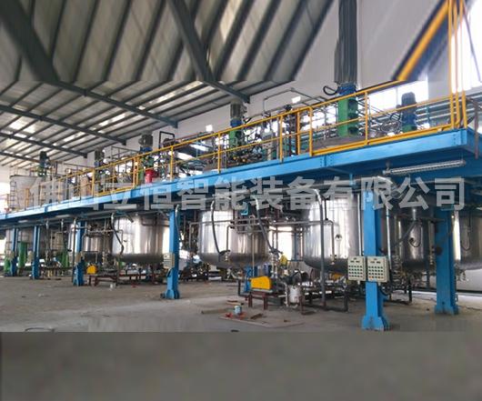 环氧树脂成套生产线案例